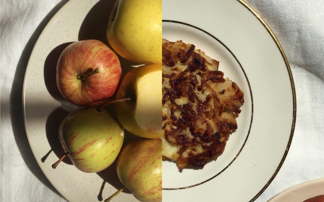 (Soft) Apple and Parsnip Fritters