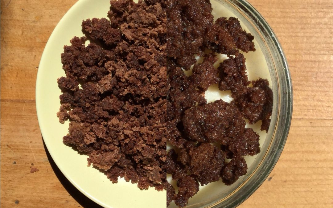 Cake Crumb topping for ice cream