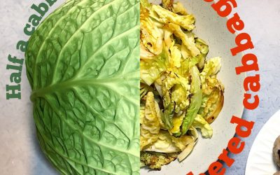 (Half a leftover) Smothered Cabbage