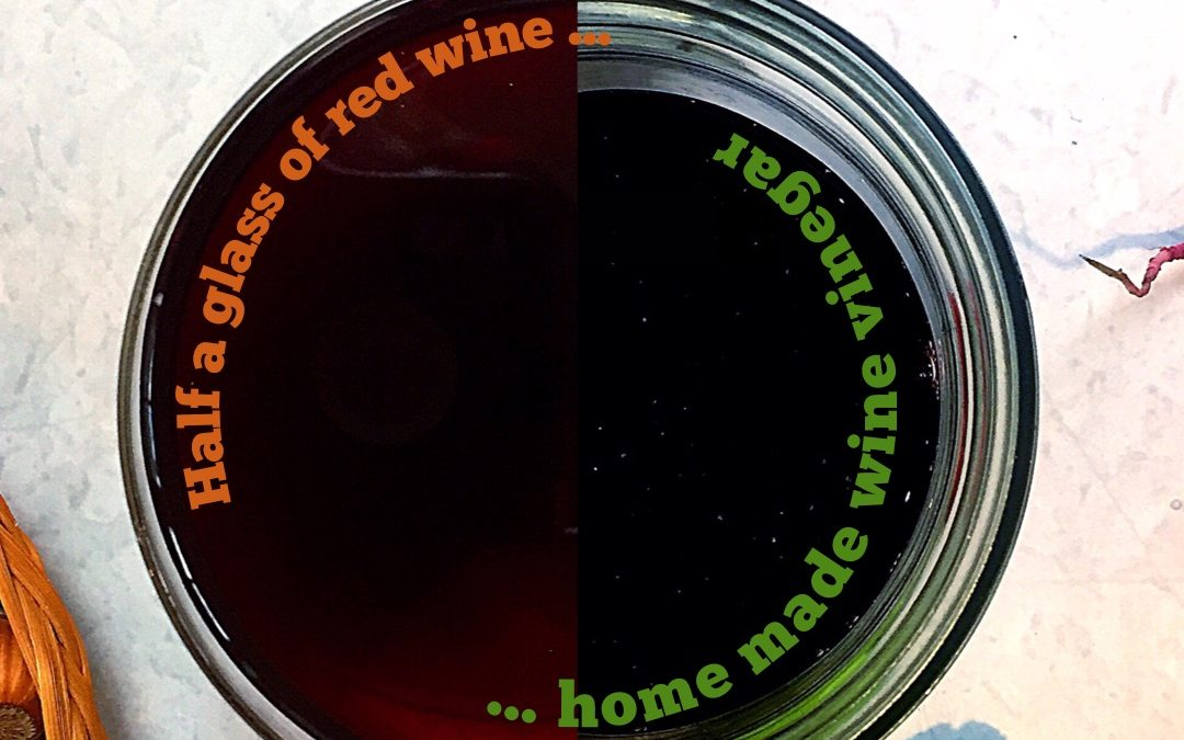 (Half a glass) Red Wine Vinegar