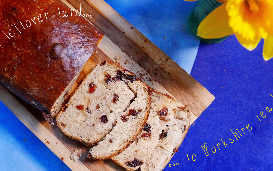 Lardy tea bread