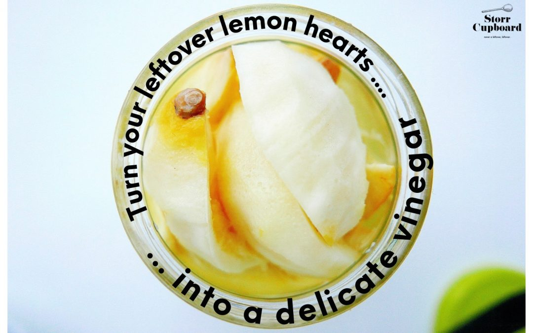 Lemon Heart Vinegar