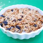Flapjack pictured to describe a variety of ingredient you can add