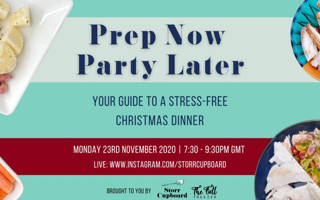 Prep Now, Party Later: Your Guide to a Stressfree Christmas Dinner